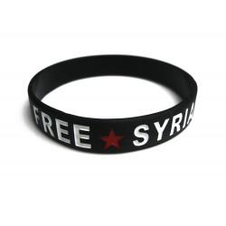 Befreit Syrien-Armband (schwarz)