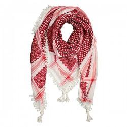 Ursprüngliches palästinensisches rotes weißes keffiyeh