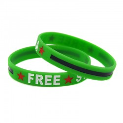 Befreit Syrien-Armband (grün)