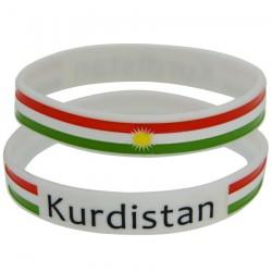 Kurdistan Armband (weiß)