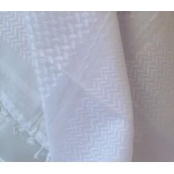 White Arabian Ghutra Arafat scarf