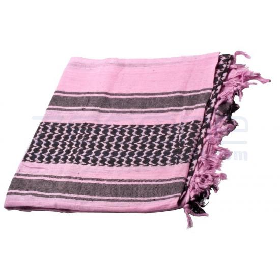 Hellrosa Arafat Schal