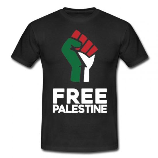 Befreit Palästina-Fausthemd