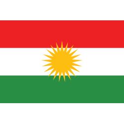 Kurdische Flagge (Kurdistan) 90x150cm