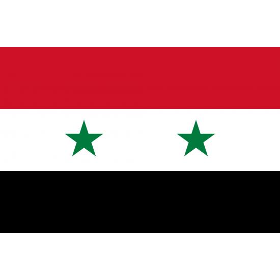 Syrische Flagge (Syrien) 90x150cm