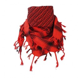 Roter Arafats Schal